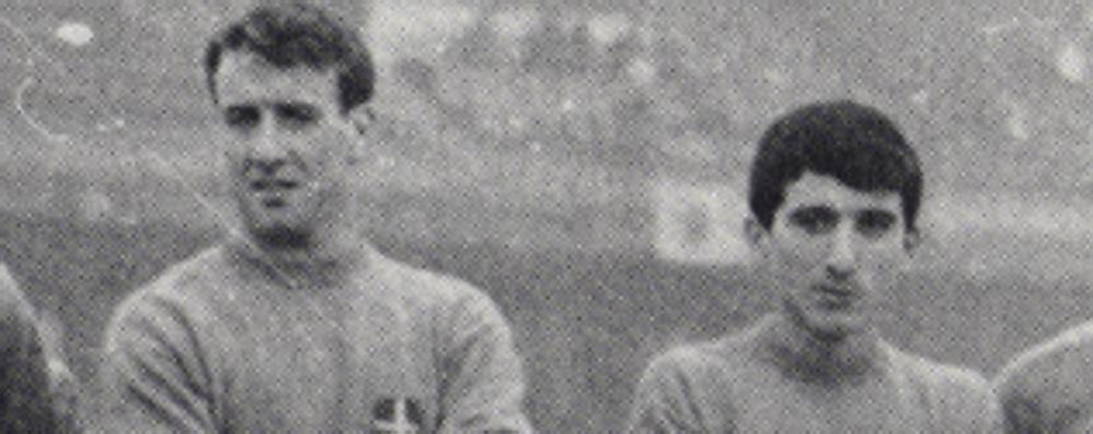 Il Como piange Ghelfi Bandiera Anni 60 e 70