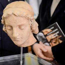 """È passata anche da Como la """"Testicciola"""" di Da Vinci"""