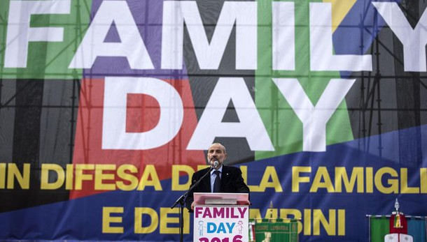 Gandolfini,si a sindaci contro 'Cirinnà'