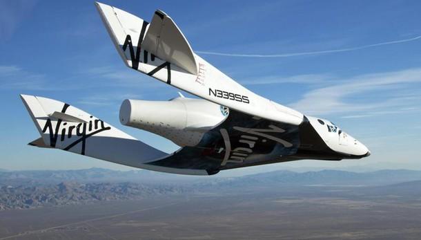 Virgin, nuovi test navetta SpaceShipTwo