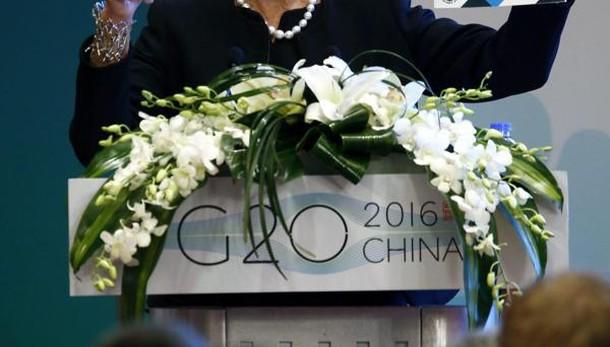 G20: Lagarde, paesi facciano riforme