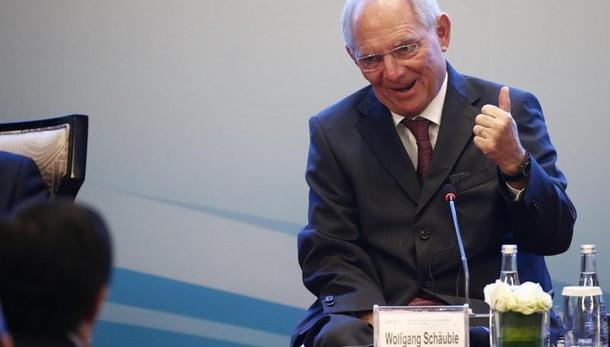 G20: Schaeuble, no nuovi stimoli fiscali