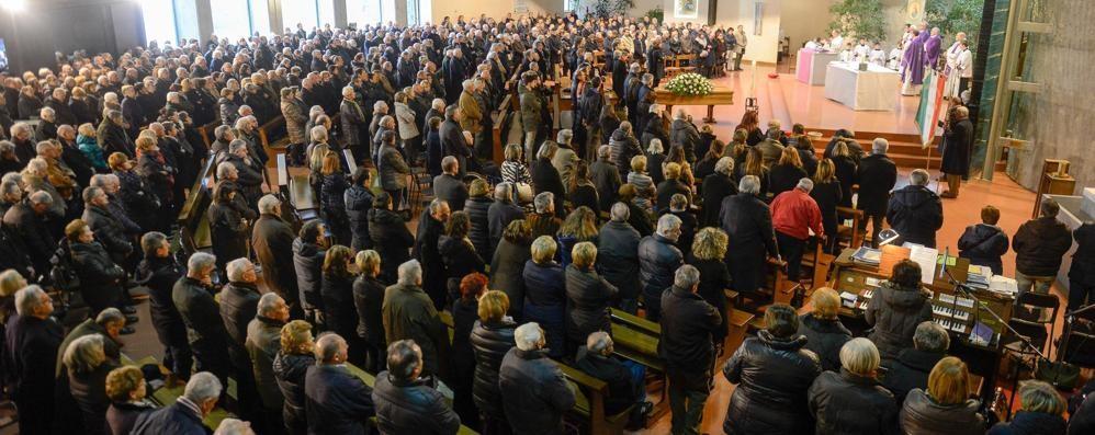 L'addio a Giannino Brenna  «Adesso fate come lui»