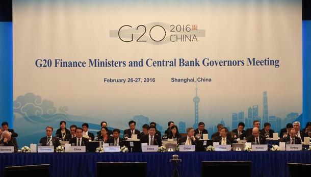 G20:per crescita leva bilancio e riforme