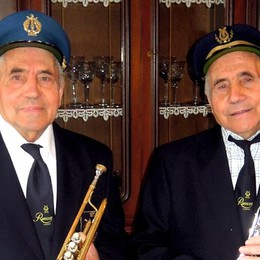 Cantù, i gemelli musicisti   Settant'anni con la banda Ranscètt