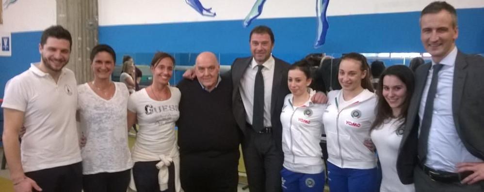 L'assessore regionale Rossi   in visita alla Polisportiva Fino