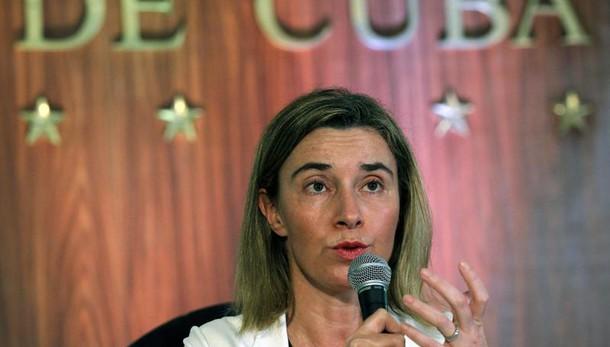 Ue-Cuba: Mogherini, accordo cooperazione