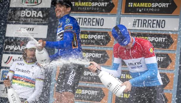 Van Avermaet vince la Tirreno-Adriatico
