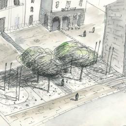 Ecco la nuova piazza Grimoldi  Valorizzati i resti antichi