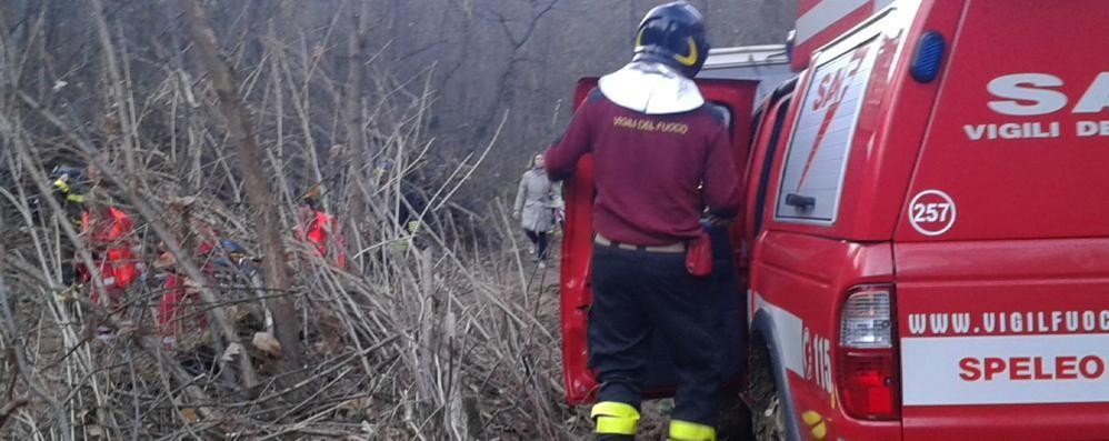 Infortunio nel bosco a Mariano  Soccorso con l'elicottero