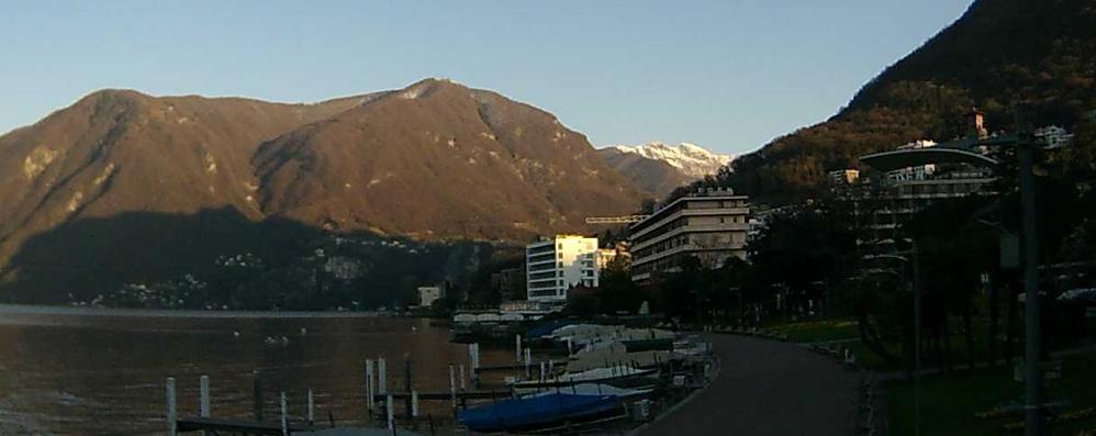 In Ticino un nuovo lungolago  Con palestra all'aperto