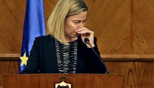 FdI, Mogherini? Lacrime segno debolezza