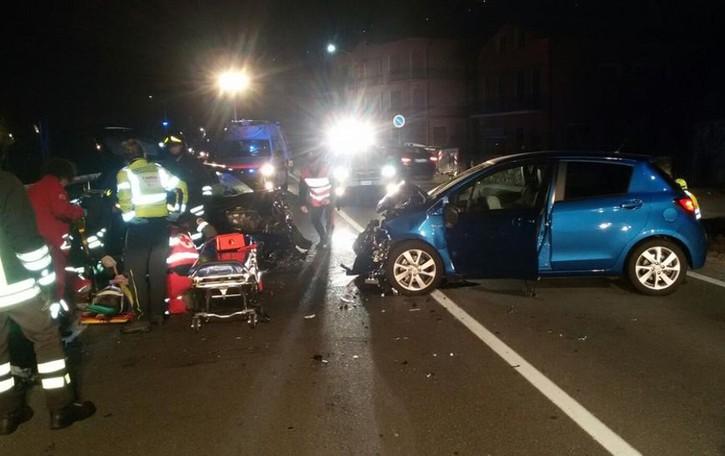 Incidente sulla Regina  Tre persone ferite