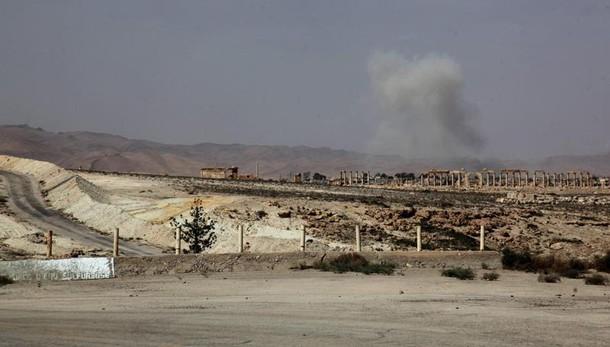 Isis a abitanti Palmira, lasciate città