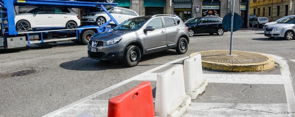 San Rocco, il divieto di svolta  costa sei minuti di strada in più