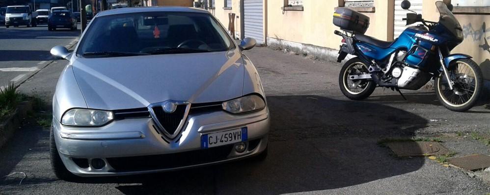 Scontro tra auto e moto  Un ferito a Mariano