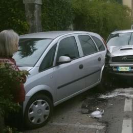 Griante: scontro fra auto  Feriti due bimbi di uno e due anni