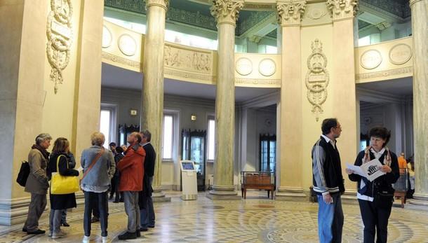 Como, Pasquetta bagnata  ma almeno musei gratuiti  Biglietto unico, che beffa