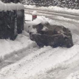 Neve, chiusa la provinciale tra la Valle d'Intelvi e il Ceresio