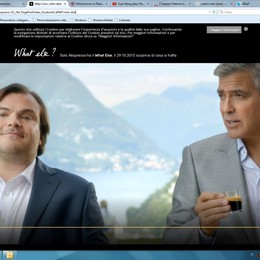 """Il primo """"pesce"""" a Como  arriva con George Clooney"""