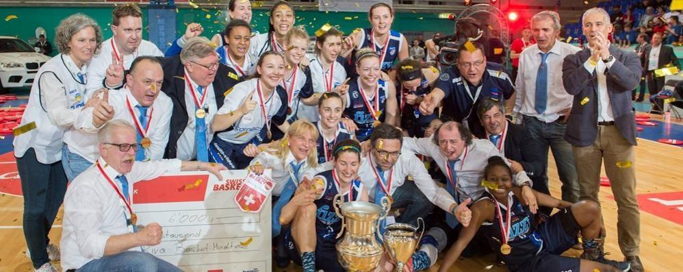 La Coppa Svizzera torna in Ticino  grazie al coach comasco Montini
