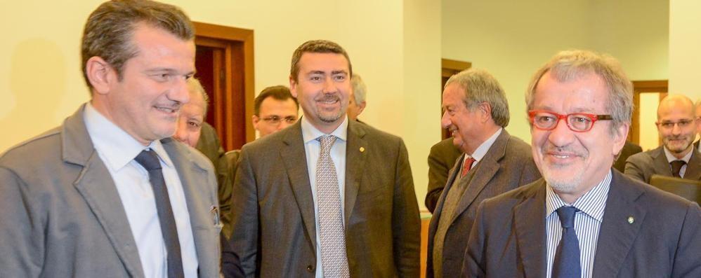 «Uniamo Como   con Lecco e Varese»