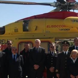 Elisoccorso, primi atterraggi  all'ospedale Sant'Anna