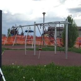 Un parco giochi sulla rotatoria   E ci sarà spazio per il mercatino