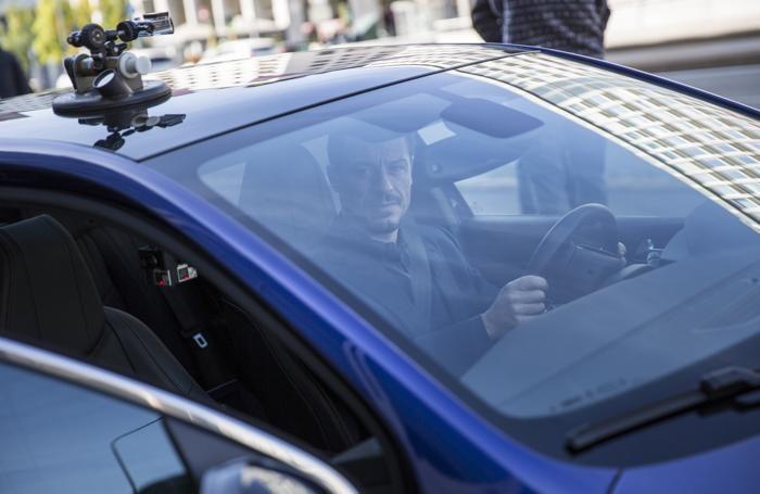 Accorsi al volante della Peugeot