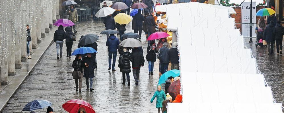 Brusco stop alla primavera  con piogge, vento e freddo