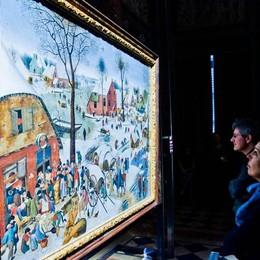 Como villa Olmo primo weekend alla mostra di Brueghel