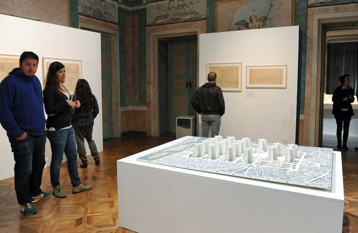 Como Villa Olmo mostra La Città Nuova Olte Sant'Elia