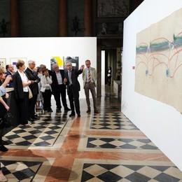 Como Villa Olmo mostra Ritratti di città - da Boccioni a De Chirico, da Sironi a Merz a oggi, il vernissage riservato autorità prestatori artisti