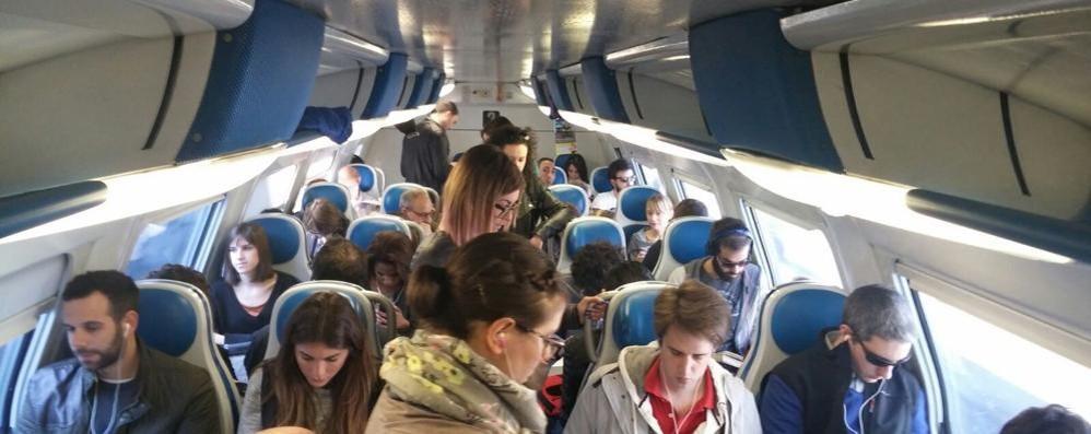 Treno soppresso  per uno senza biglietto