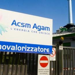 «Cediamo Acsm-Agam» La giunta approva la vendita