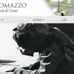 Lomazzo, la raccolta differenziata  spiegata anche in cinese