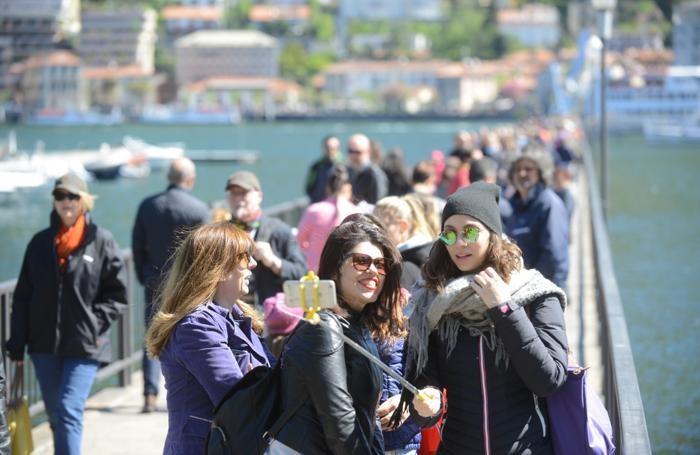 Como 25 aprile turisti e traffico
