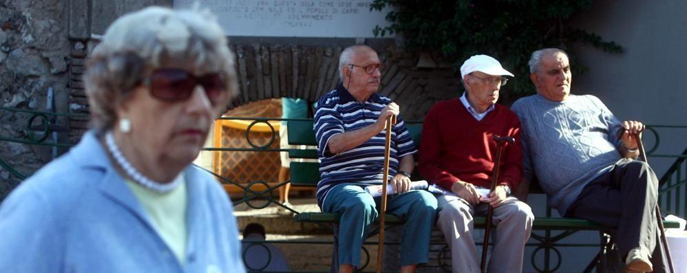 L'aspettativa di vita è in calo  È la prima volta nella storia d'Italia