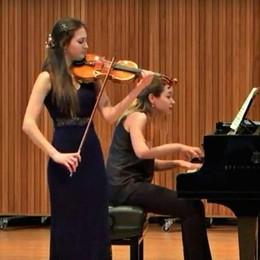 Premio Terraneo alla violinista Arizza