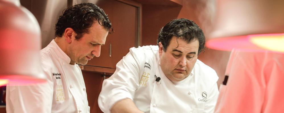 Debutto di classe di chef  Esposito al Casta Diva