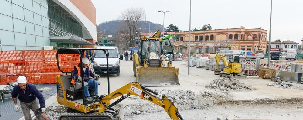 Trevitex, nuovo percorso pedonale  Da Camerlata al liceo Giovio
