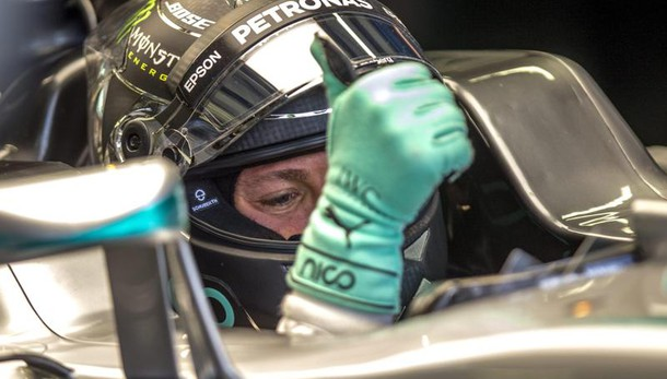 F1: Russia, Rosberg in pole