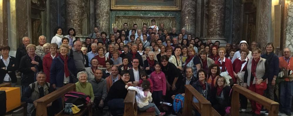 In centocinquanta dal Papa   Da Olgiate per il giubileo