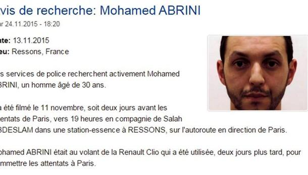 Media Belgio, preso terrorista Abrini