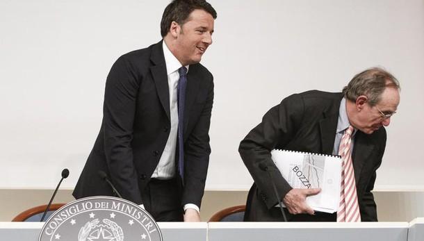 Renzi, Pil +1,2% fatto di serietà