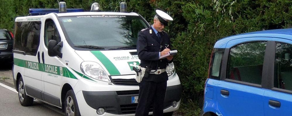Cantù, tante multe non pagate  Manca più di un milione di euro