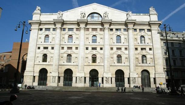 Borsa Milano in calo, Ftse Mib -1,3%