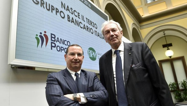 Banche a picco, sospese Banco,Bpm,Carige