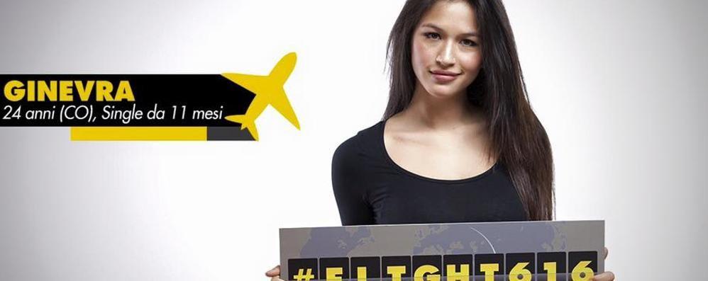 Ginevra, da Domaso in tv   «Il mio Flight 616 su Italia 1»