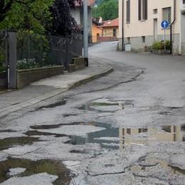 Erba, asfalti in centro e periferia  Si amplia la strada dell'ospedale